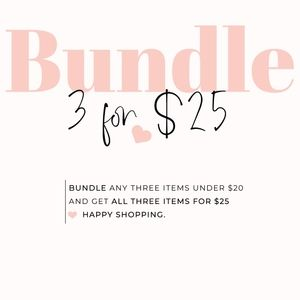 🌟3 FOR $25🌟